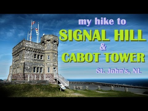 Maritime of My Life (Pt. 74) - St. John's Hike to Signal Hil