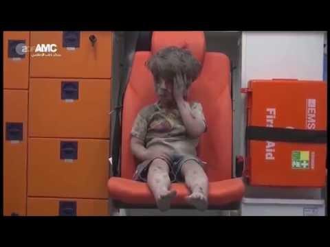 Syrien: Bild/Video des verwundeten Jungen Omran Daqneesh (5) ist Fälschung