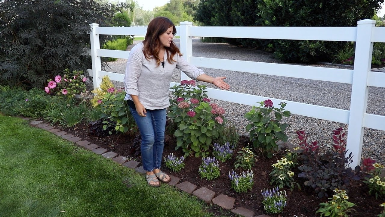 Designing A Narrow Flowerbed To Look Abundant Garden