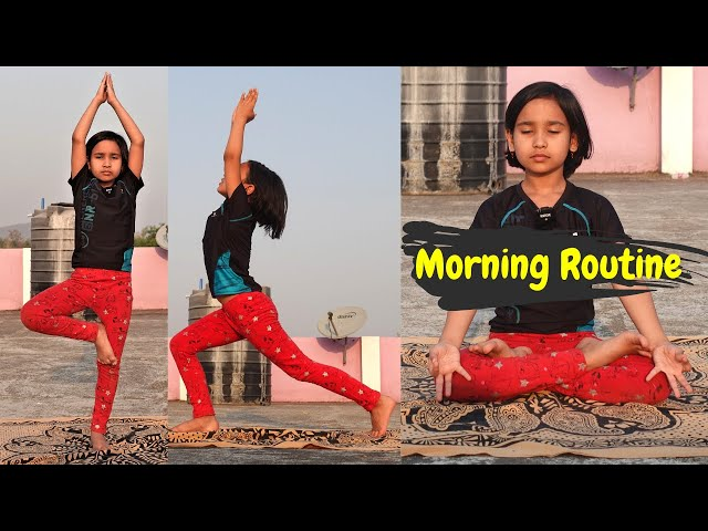 My Day Routine Part 1 at Home Town / VLOG /  #LearnWithPari #Aadyansh
