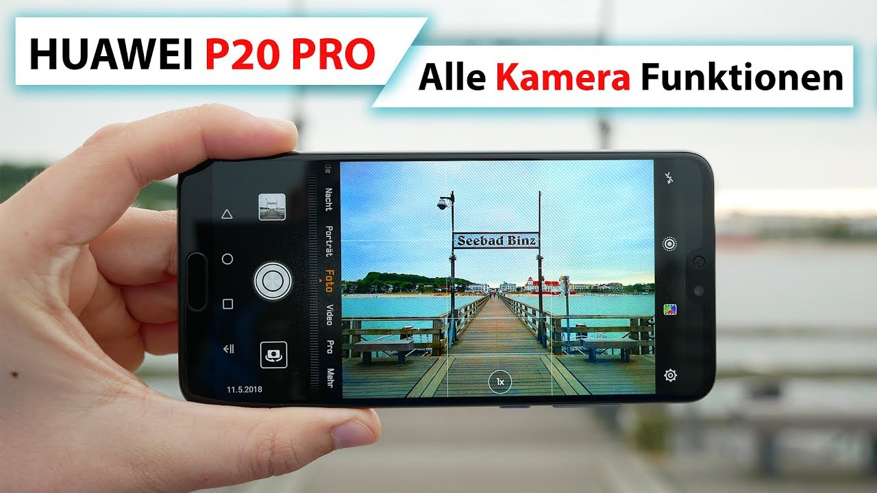 Huawei P20 Pro Kamera
