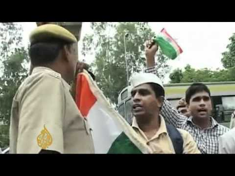 Indian activist detained ahead of mass fast