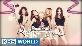 SISTAR - Touch My Body / Naughty Hands (나쁜손) / OK GO! [Music Bank COMEBACK / 2014.07.25]
