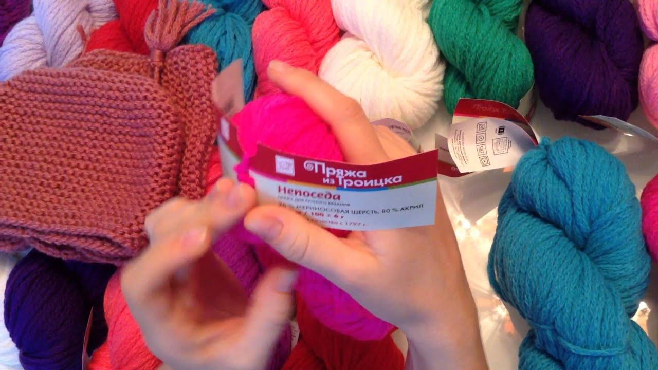 Моя вторая страсть - вязание) Мои повязушки за февраль) - YouTube