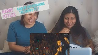 """Harry Styles """"KING OF ENTERTAINING THE CROWD"""" REACTION 
