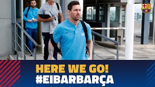 Trip to Eibar ahead of the last LaLiga match