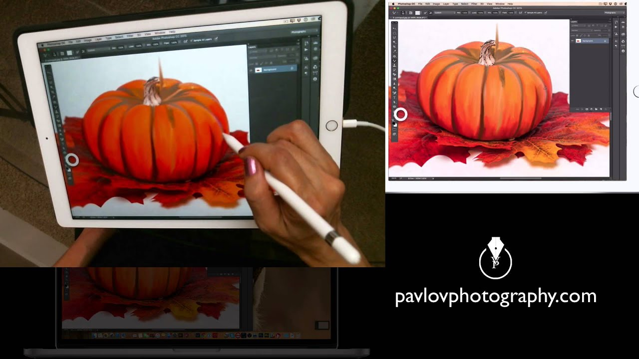 How To Do Digital Painting On The Ipad Pro With Apple Pencil Youtube