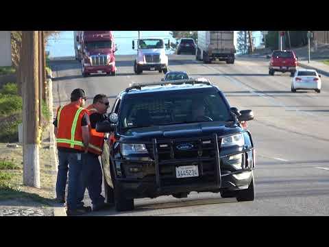 TESORO REFINERY INLAND EMPIRE POLICE CALLED
