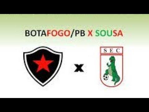 Botafogo PB 1x1 Sousa| Campeonato Paraibano 2020| Narração e Campo virtual