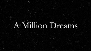 A million dreams piano karaoke male video