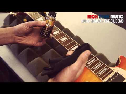 Fretboard Cleaning & Conditioning - Music Nomad - F One Oil