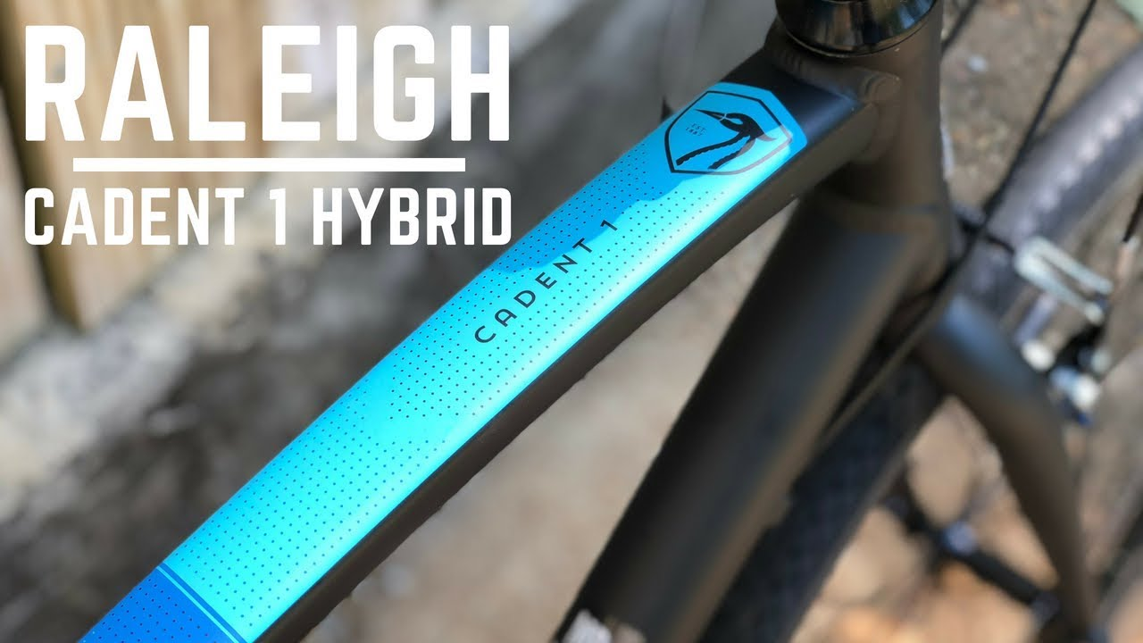 94a68ed7eee Raleigh Cadent 1 Hybrid Fitness Bicycle - YouTube