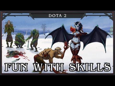 видео: dota 2 - fun with skills (Изменение Навыков)