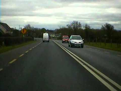 Road trip from Kilkenny City to Carlow town
