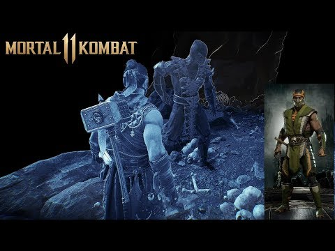 Mortal Kombat 11 Where To Find Reptile Again Scorpion Forest