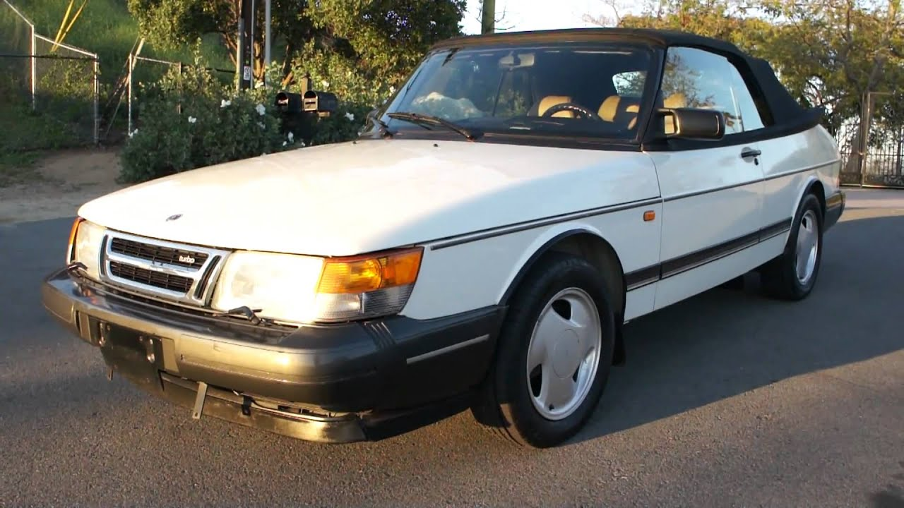 1993 Saab 900s Turbo Convertible Mts