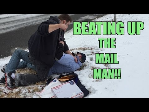 Grim FIGHTS the MAILMAN over STOLEN WWE Wrestling Figure of RARE Mattel Daniel Bryan
