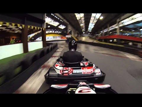 [Raw Footage] Go Karting Teamsport North London Edmonton - 1hr Grand Prix - GoPro Hero4 BLACK