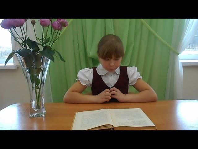 Изображение предпросмотра прочтения – ДианаБоброва читает произведение «Стихотворение в прозе Воробей» И.С.Тургенева