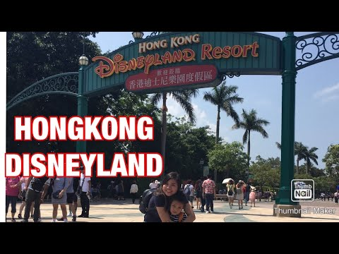HONG KONG DISNEYLAND🇭🇰  HAPPIEST Place on earth
