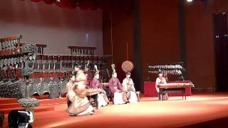 hubei museum traditional song and dance performance