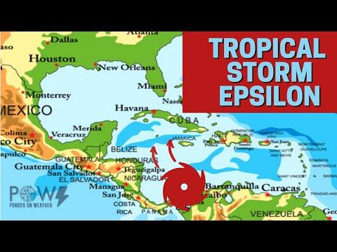 Tropical Storm Epsilon - Caribbean ready to explode! POW Ponder On Weather
