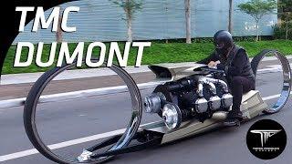 SF的未来感炸裂!飛行機のエンジンを搭載したバイク「TMC デュモン」
