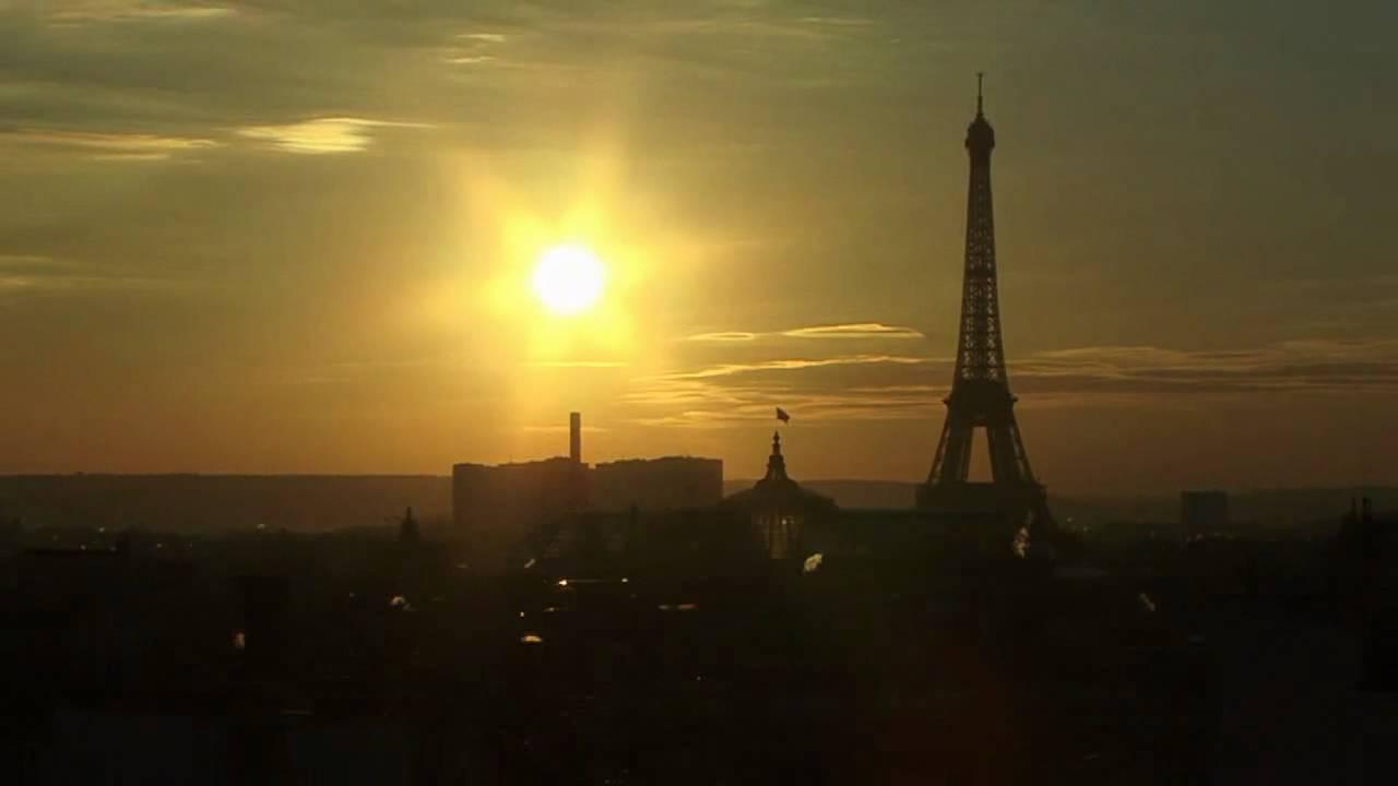 En hd paris coucher de soleil sur la tour eiffel hivr 2008 2009 youtube - Coucher de soleil sur paris ...