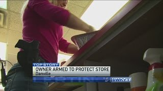 Danville business owner takes her store's security to next level