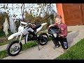 Surprise My BROTHER with Mini DIRT BIKE !?