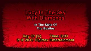 The Beatles - Lucy In The Sky With Diamonds (Backing Track)
