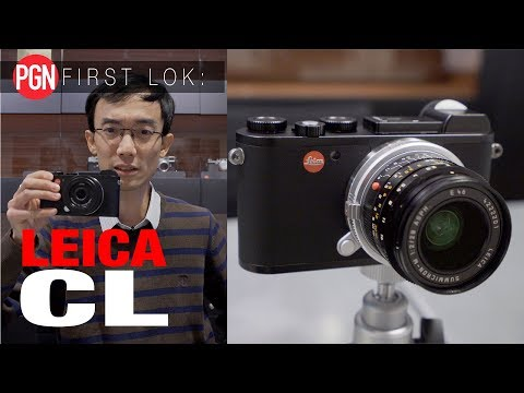 FIRST LOK: Is the Leica CL the most stylish mirrorless camera ever?