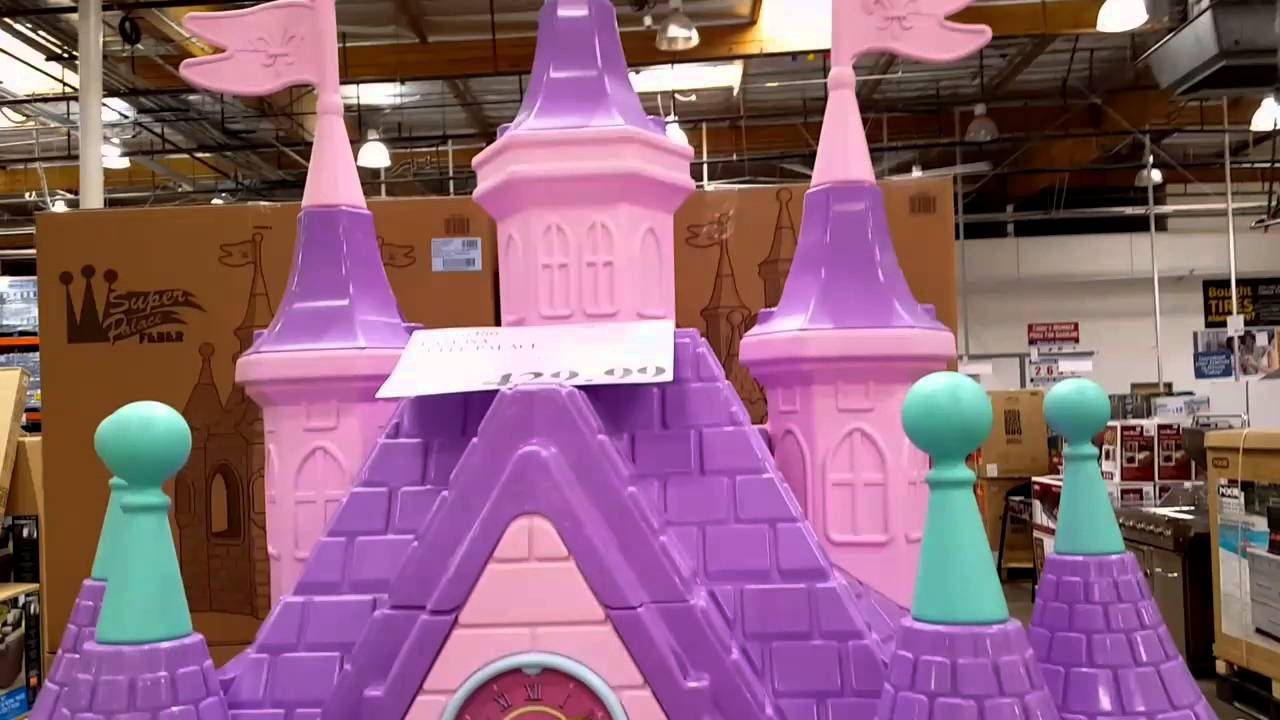 INSIDE the COSTCO FEBER   Famosa Super Palace   Toy Castle for 3      INSIDE the COSTCO FEBER   Famosa Super Palace   Toy Castle for 3  year olds