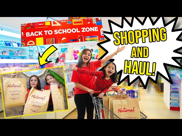 BACK TO SCHOOL SHOPPING + HAUL 2019! (PHILIPPINES)