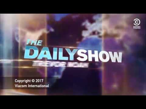 The Daily Show NEW INTRO - February 27, 2017