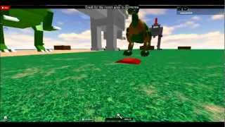 roblox spinosaurus beta update neck moves and mouth grabs