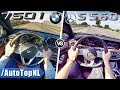 BMW 7 SERIES vs MERCEDES S CLASS 750i vs S560 ACCELERATION & TOP SPEED POV by AutoTopNL