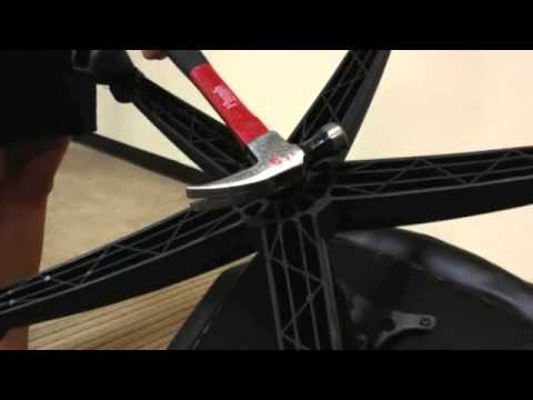 how to change office chair cylinder