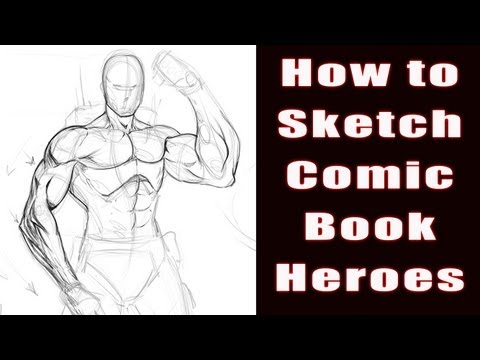 How To Draw - Comic book Heroes - Video