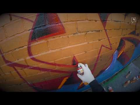 GRAFFITI WITH MOCKA AND KIER | painting in Warendorf