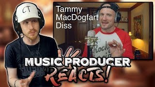 Music Producer Reacts to Mac Lethal - Tom MacDonald DISS (Single White Female)