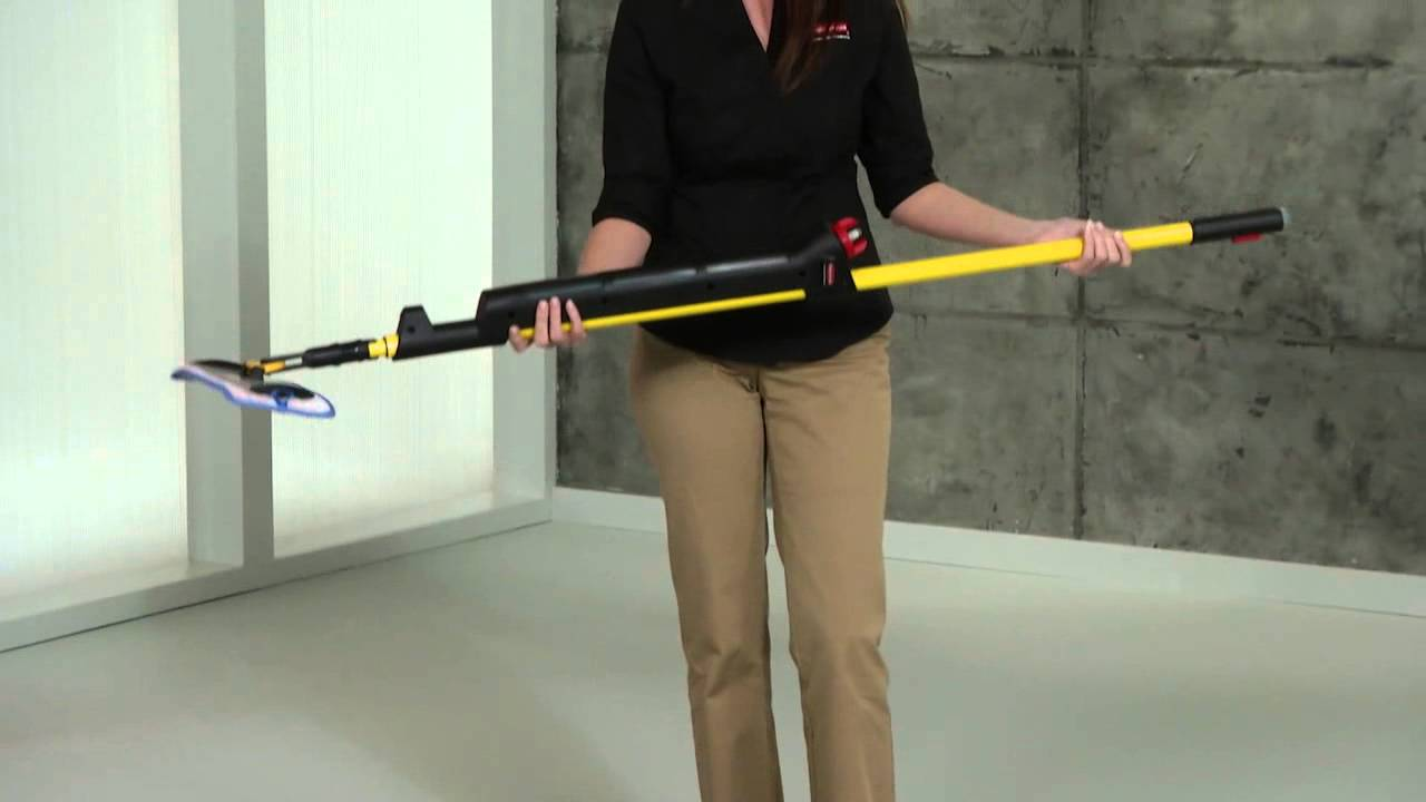 Rubbermaid Commercial Pulse Mop   YouTube