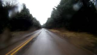 Rainy drive from Forks, WA to the Hoh Rainforest (HD Time Lapse)