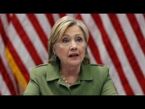 Conservative activist confronts Clinton about emails, Benghazi