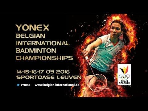 Qualifications - YONEX Belgian International 2016 Court 1 & 2 [Part 1]