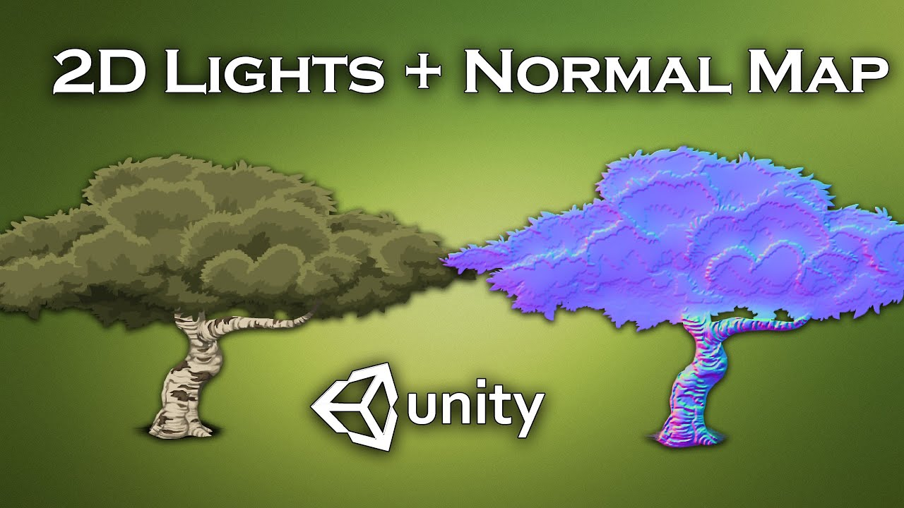 Make Your 2D Sprites Look like 3D using Normal Maps and 2D lights (Unity Tutorial)