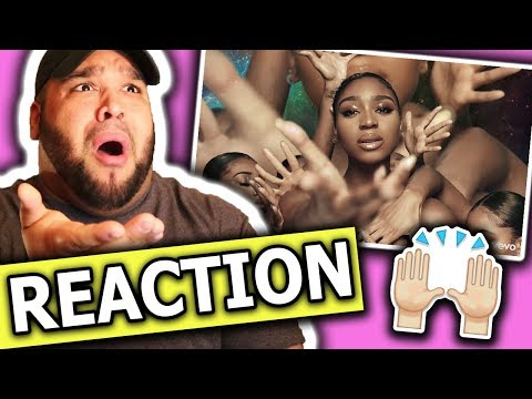 Normani - Waves (feat. 6LACK) Music Video REACTION