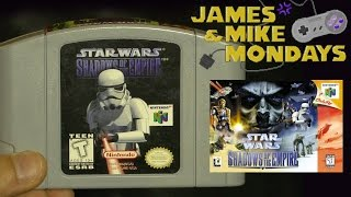 Star Wars: Shadows of the Empire (N64) Part 1 - James & Mike Mondays