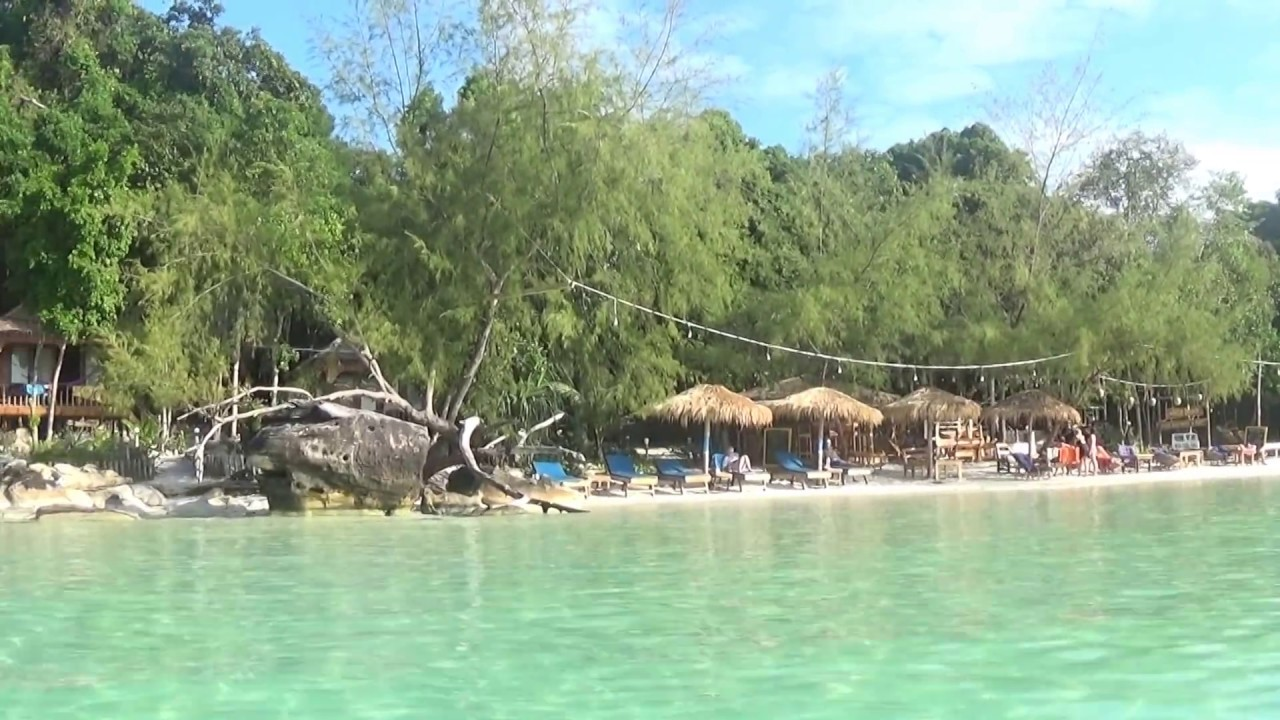 White Beach Bungalows Koh Touch Rong Island Cambodia Visit