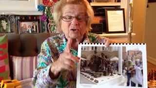 Dr. Ruth and Kristallnacht and her Frank Meisler Kindertransport statue